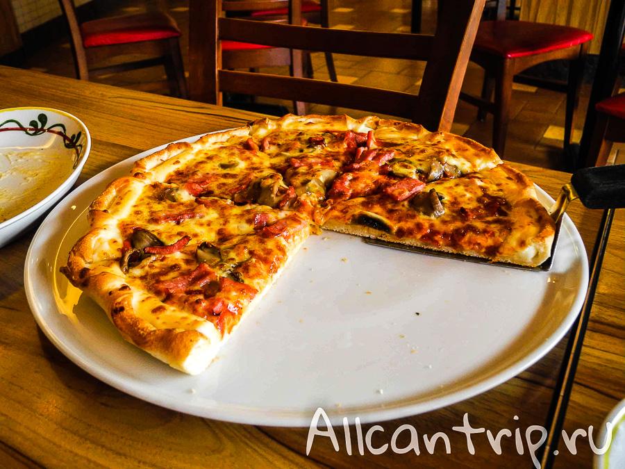 Пицца в Лаосе