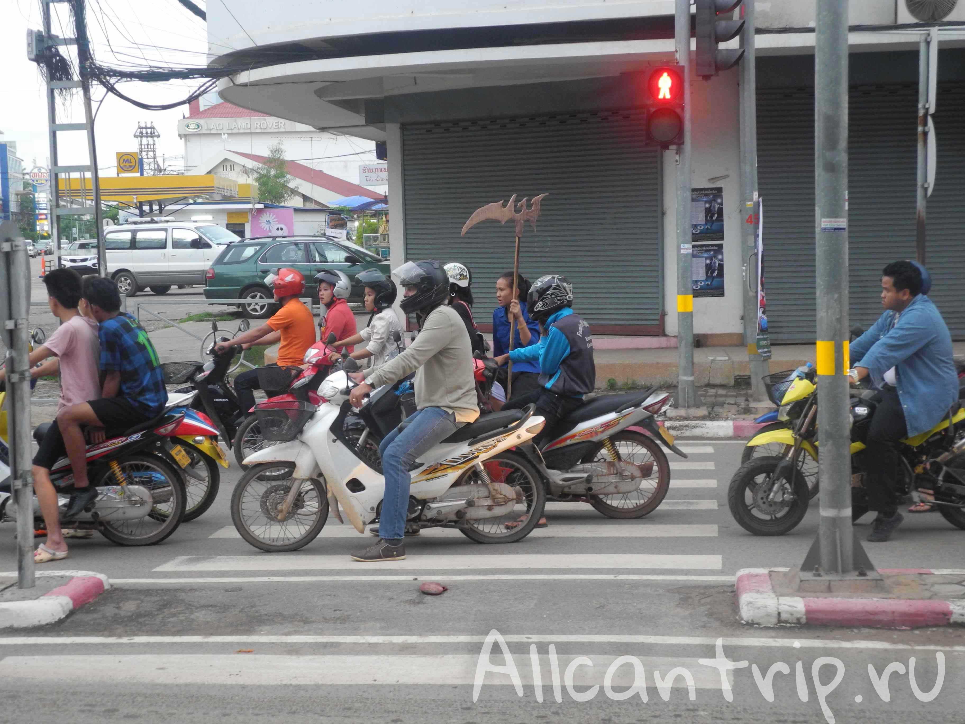 Вьентьян столица Лаоса
