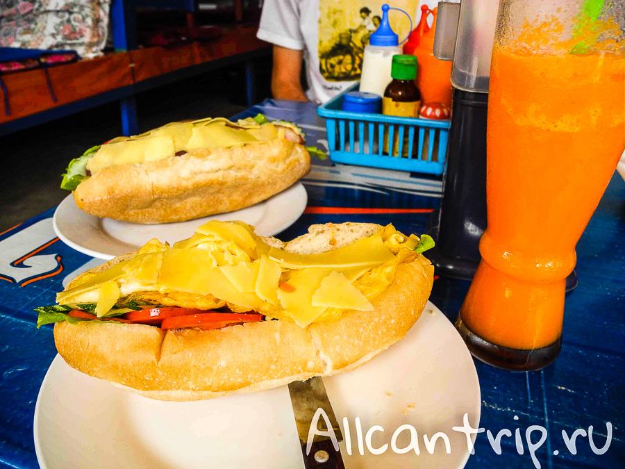Еда в Ванг Вьенге цены