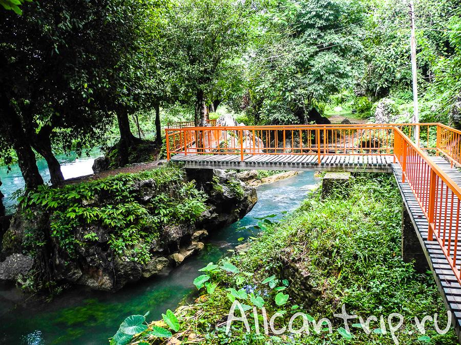 Пещера Tham Chang Cave Ванг Вьенг