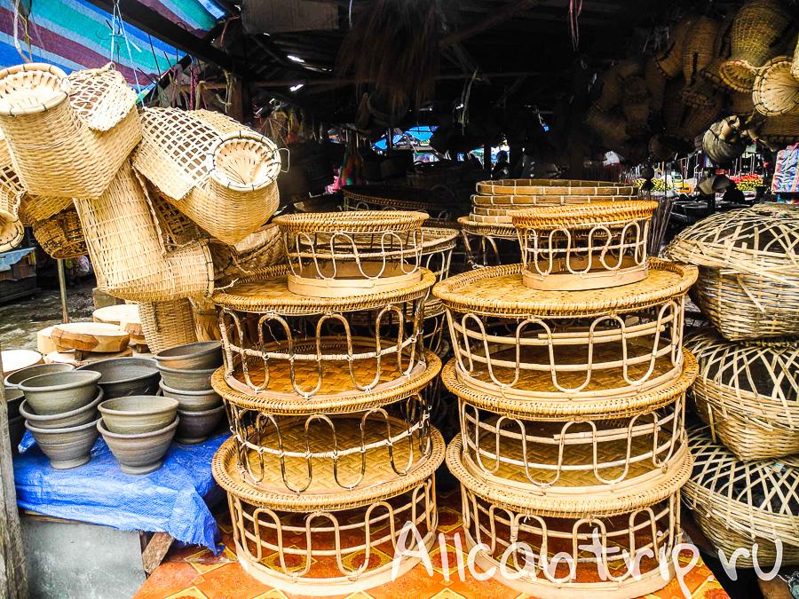 Рынок в Ванг Вьенге
