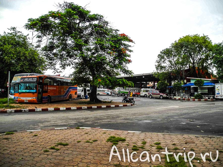 Автовокзал Нонг Кхай