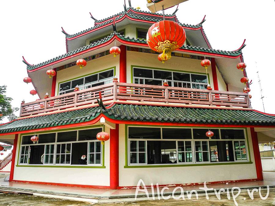 Китайский храм в Нонг Кхай