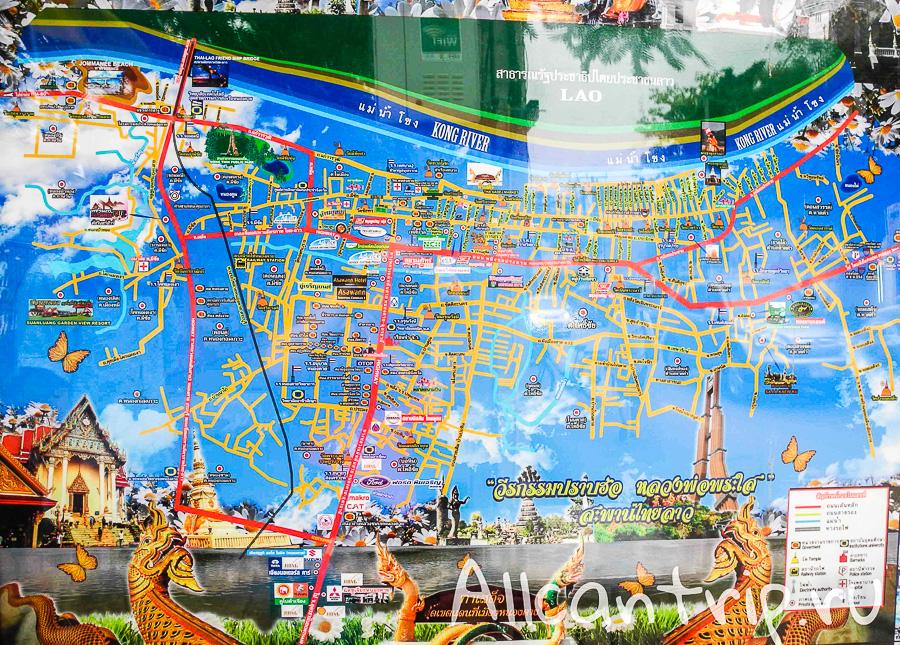 Улицы Нонг Кхай
