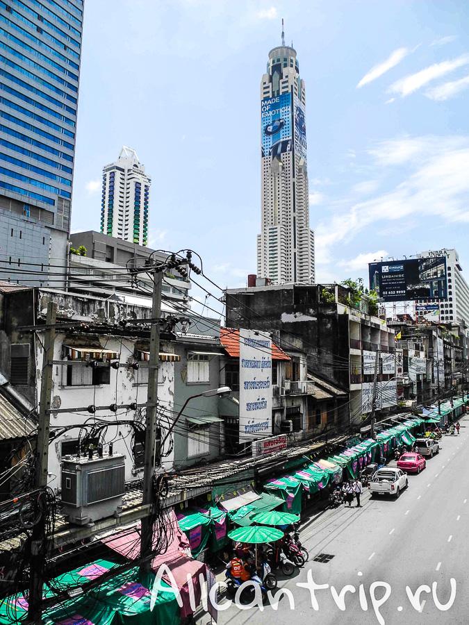 Байок Скай, Bayoke Sky самый высокий отель в Бангкоке
