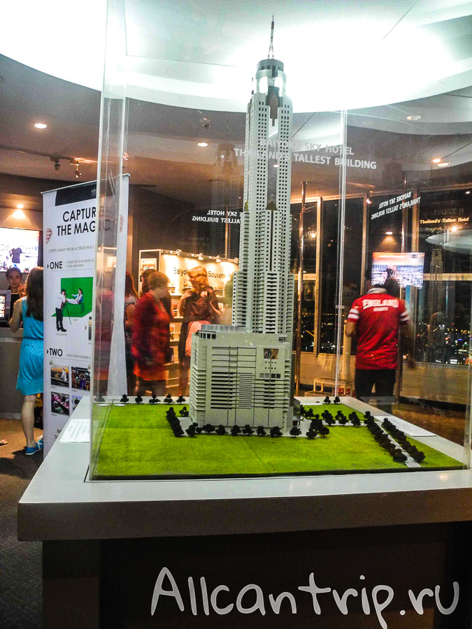 Байок Скай, Baiyoke Sky самый высокий отель в Бангкоке