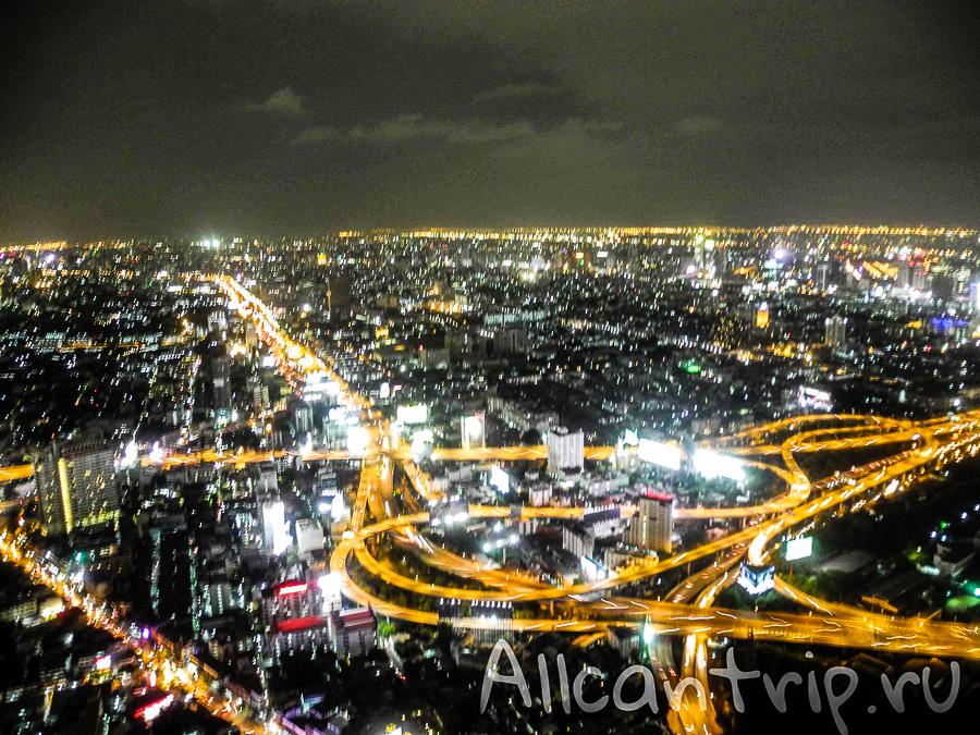 обзорная площадка Байок Скай, Baiyoke Sky самый высокий отель в Бангкоке