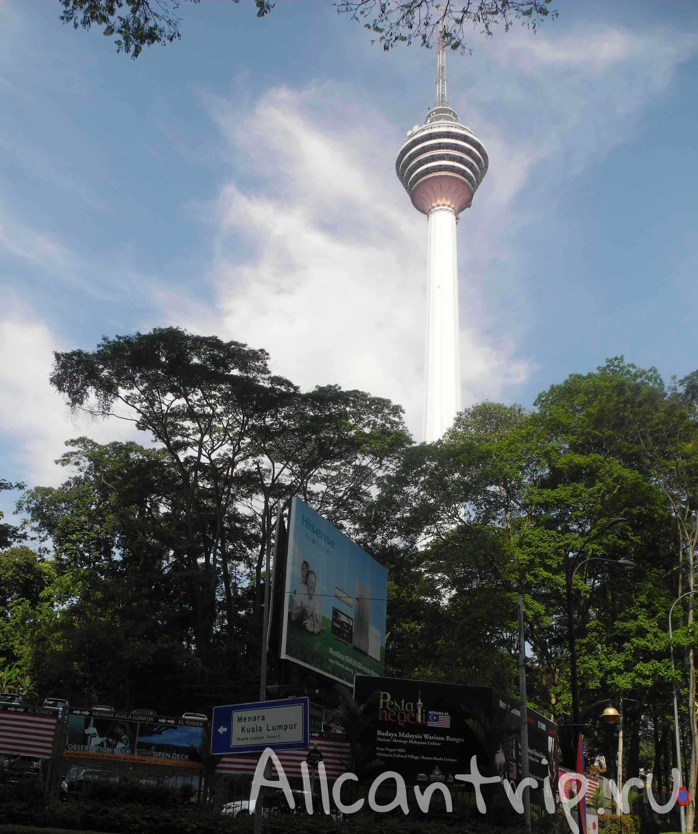 Телебашня Менара Куала-лумпур