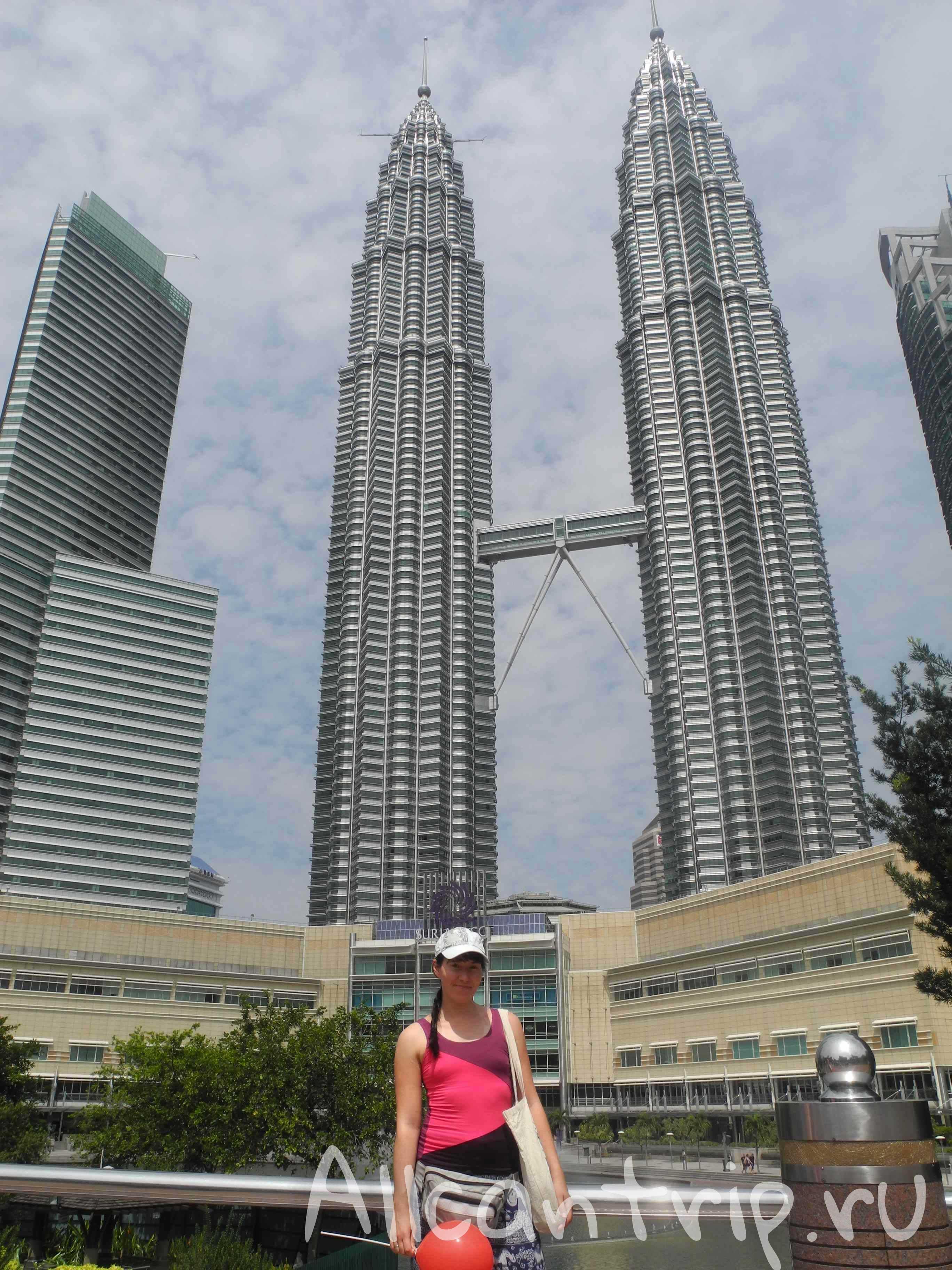 Вид на башни Петронас Куала-Лумпур