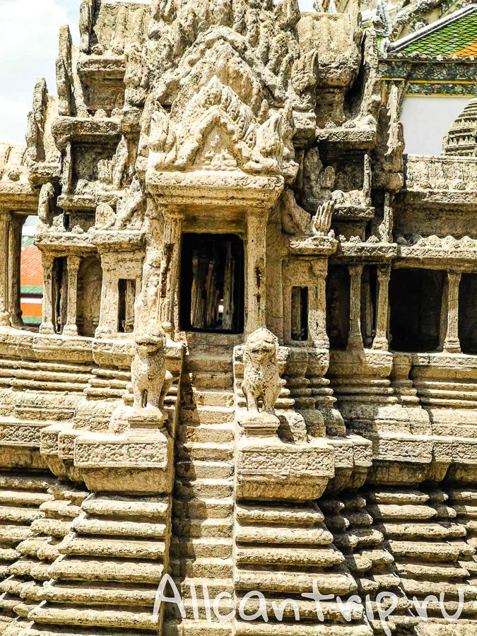 Модель Ангкор Вата в Бангкоке