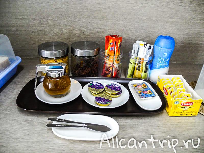 Завтрак в отеле Riski Residence в Бангкоке