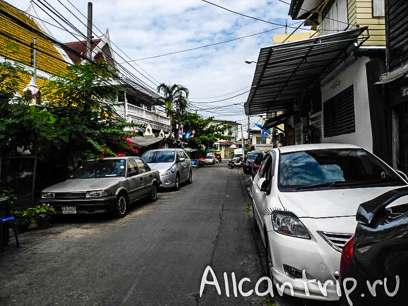 Район Самсен роад в Бангкоке