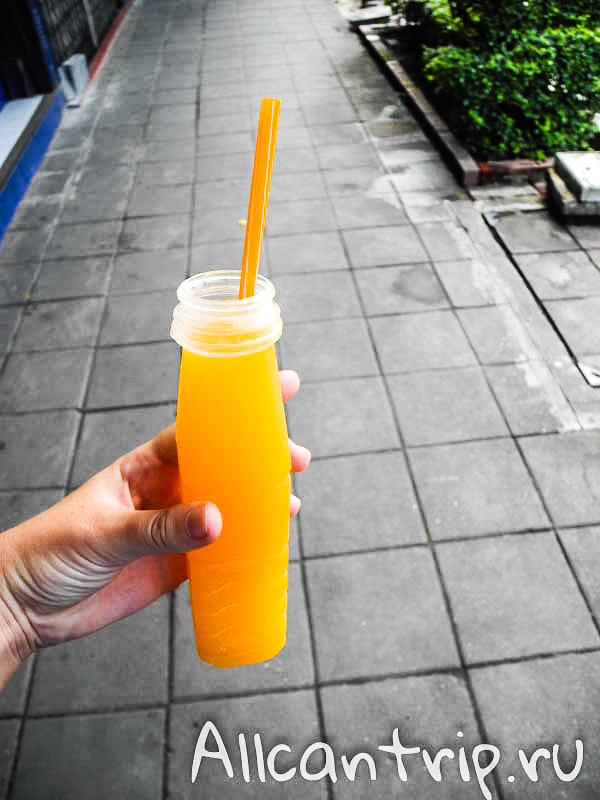 Мандариновый сок в Бангкоке