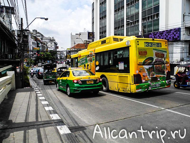 Samsen Road в Бангкоке