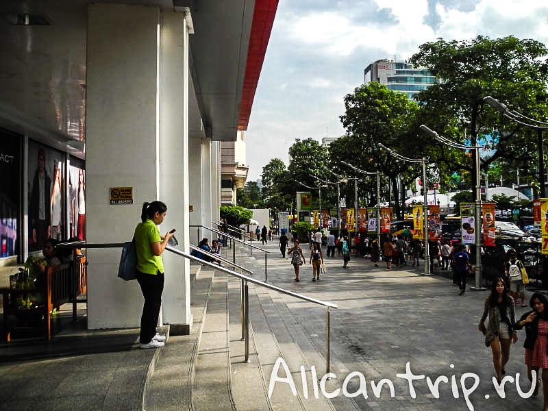 Биг С в центре Бангкока