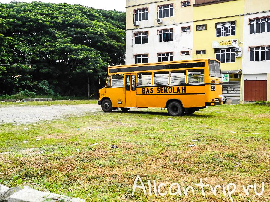 Улицы Кота-Бару Малайзия