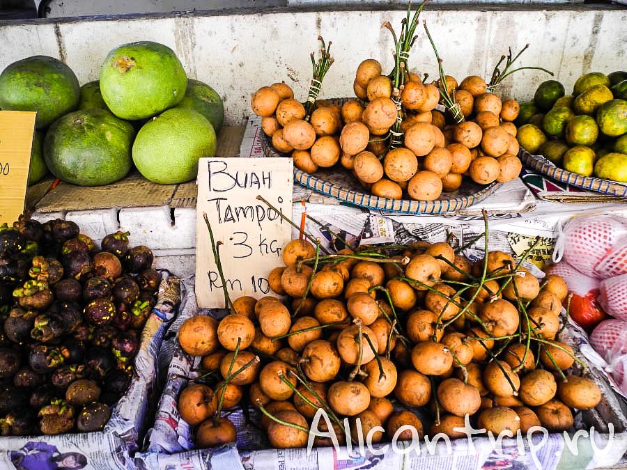 Фруктовый Рынок в Кота-Бару