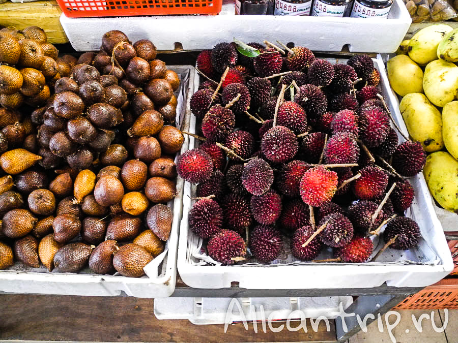 На рынке в Кота-Бару