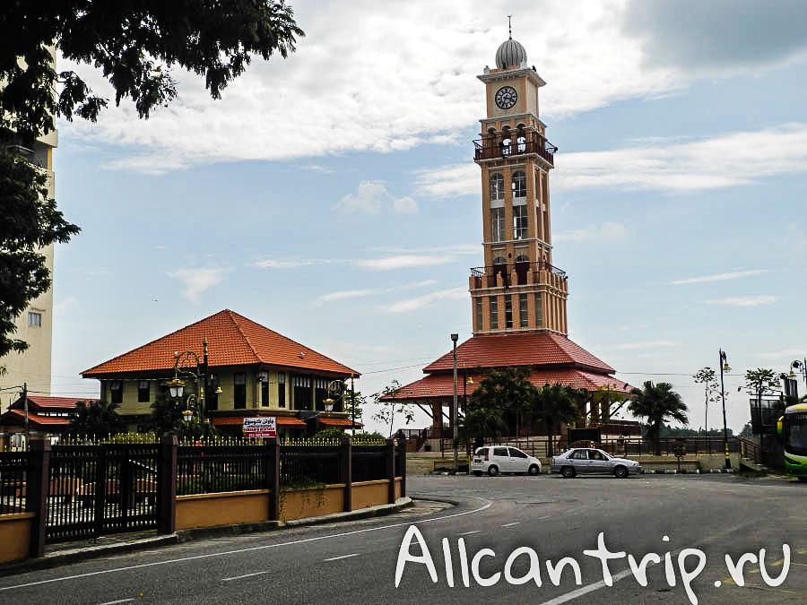 Смотровая башня в Кота-Бару