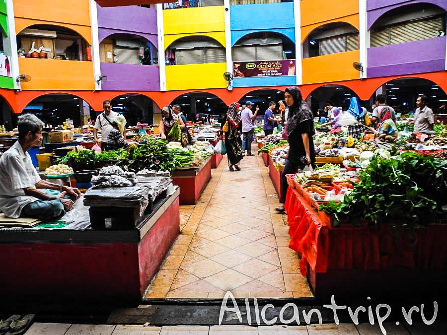 Азиатский рынок в Кота-Бару