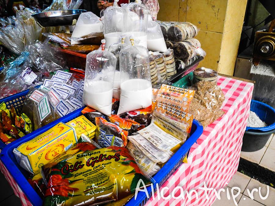 Купить кокосовое молоко в Кота-Бару