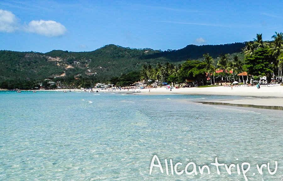 Пляж Chaweng на Самуи