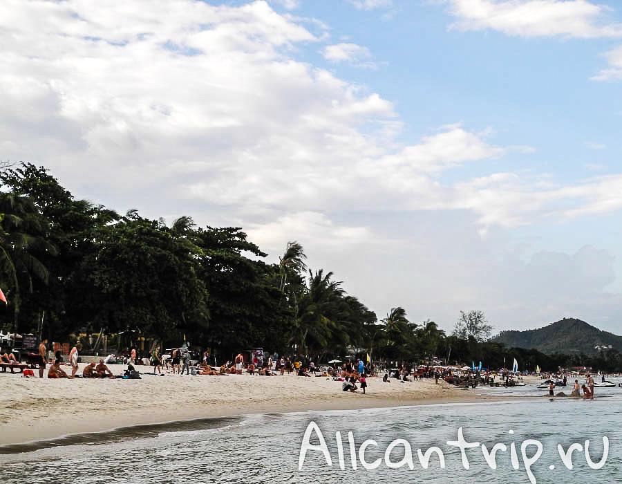 Пляж Chaweng Samui
