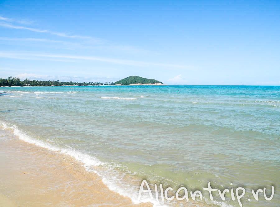 Вода пляжа Липа Ной Самуи