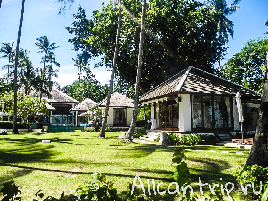 Дома на пляже Lipa Noi Samui