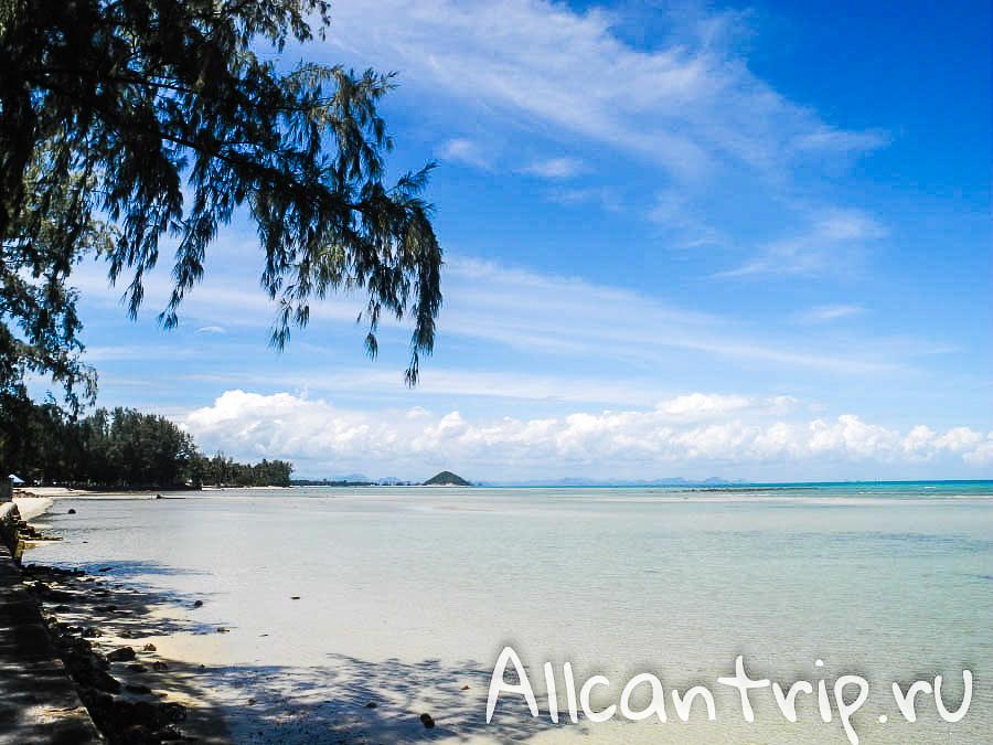 Пляж Натон на Самуи