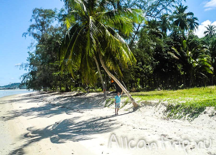 пляж Nathon Samui