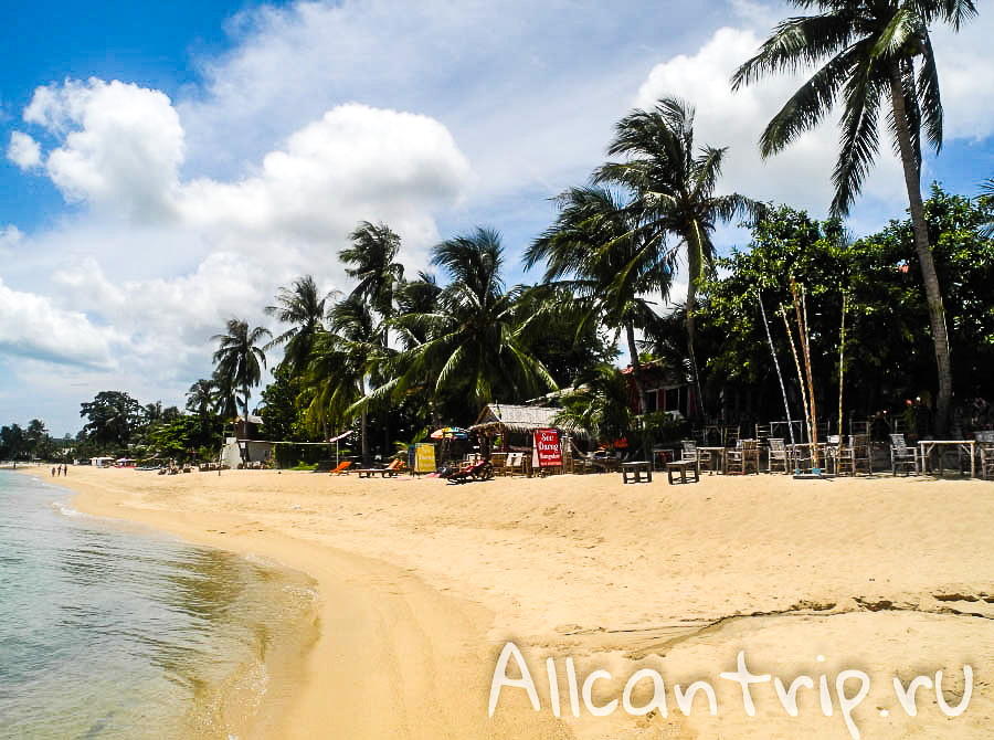 Maenam beach Samui