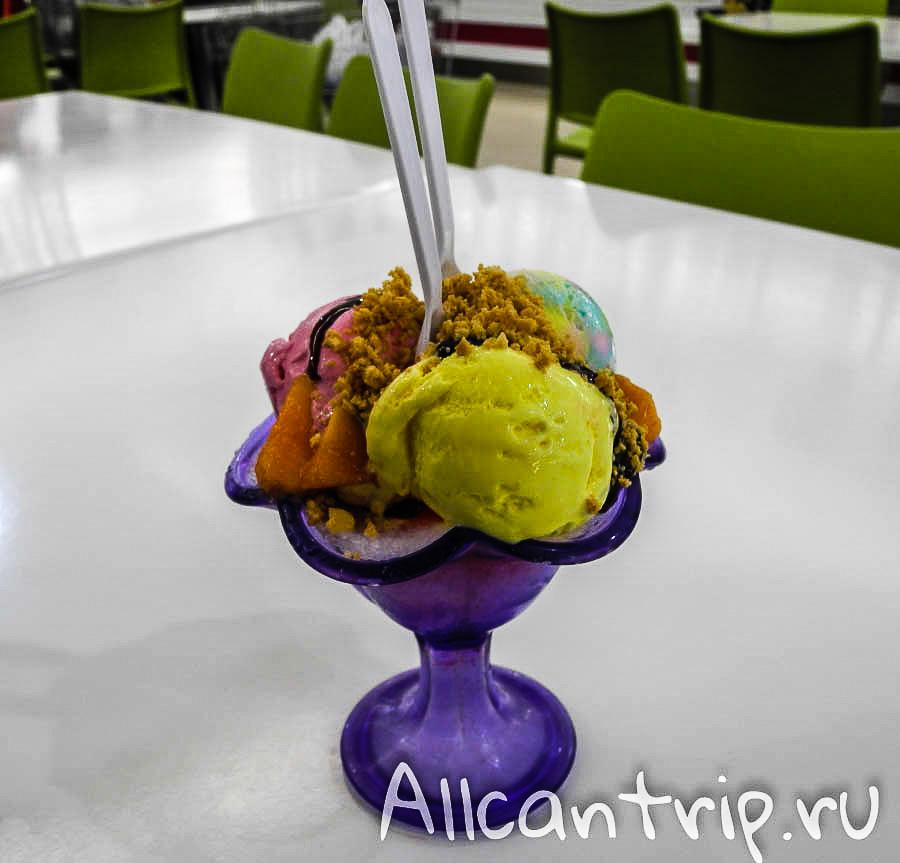 Мороженое на льду малайзия