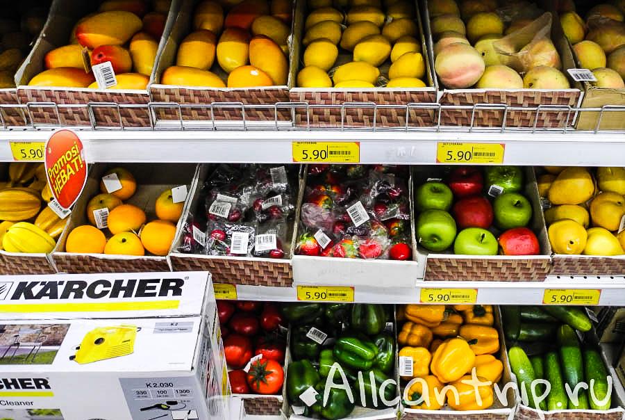 Купить пластиковые фрукты и овощи