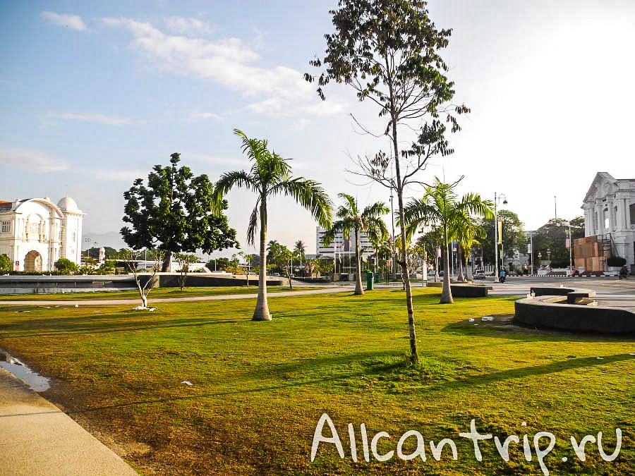 на улице города Ипох, Малайзия