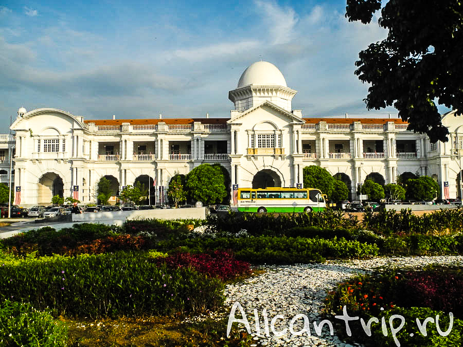 ЖД вокзал города Ипох, Малайзия