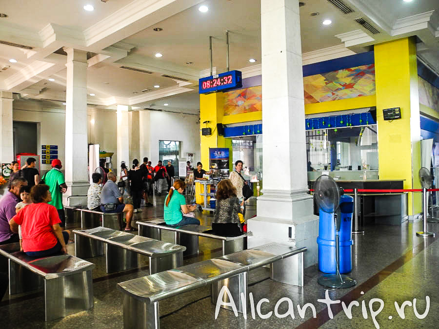 Вокзал города Ипох