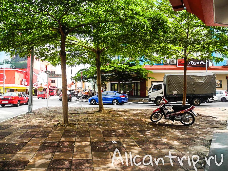 на улице малайского города Ипох