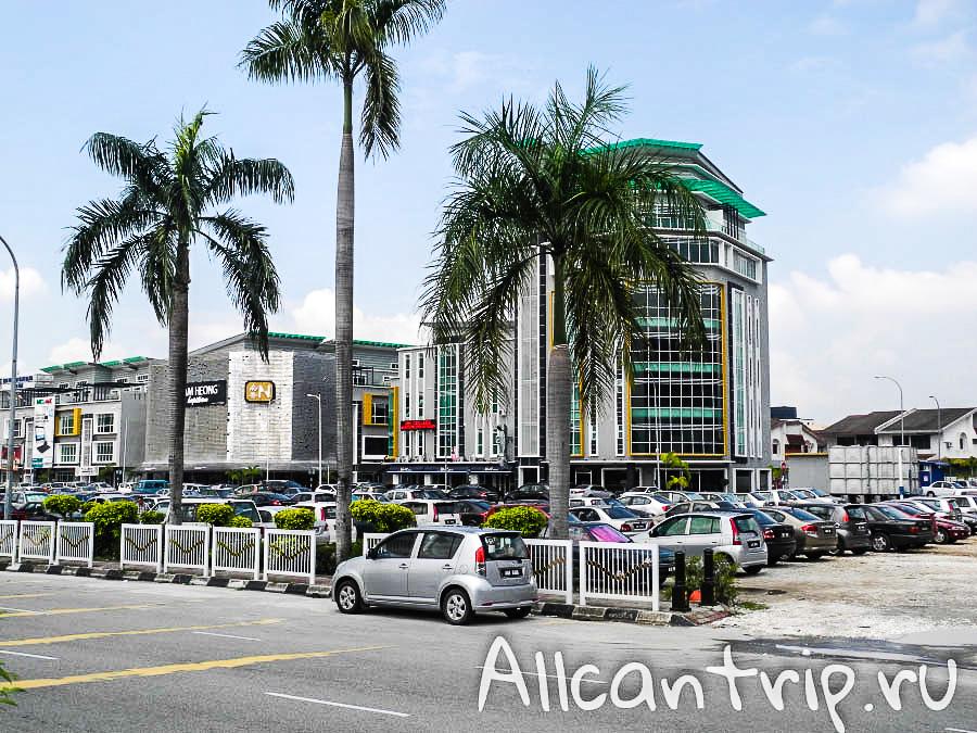 пальмы на улице в городе Ипох Малайзия