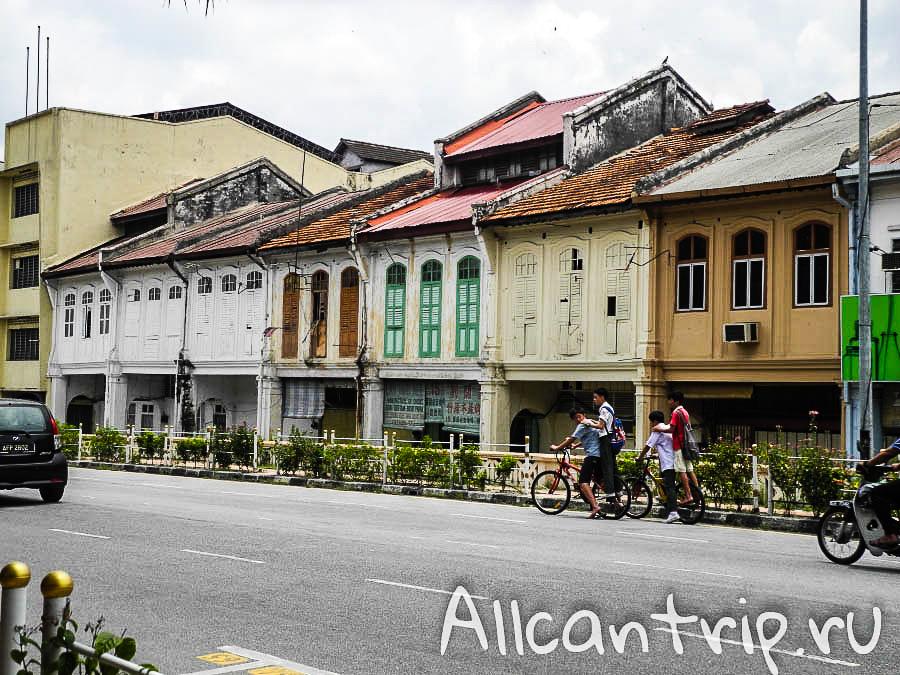 велосипед в городе Ипох Малайзия