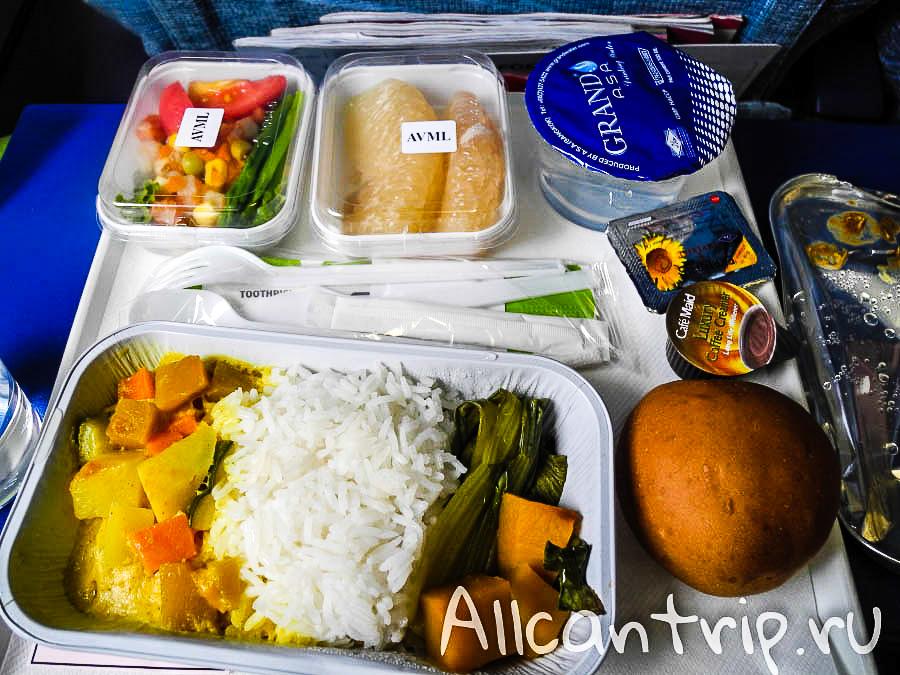 Спецпитание в Finnair