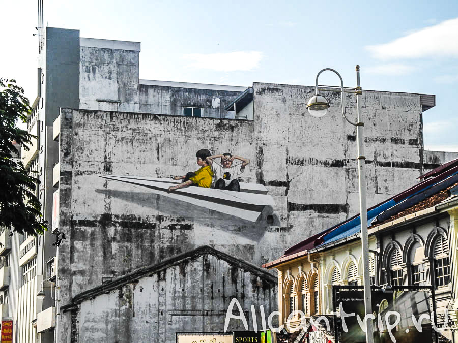 Настенные рисунки в Ипохе