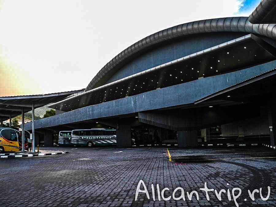 Автовокзал Ипоха Amanjaya