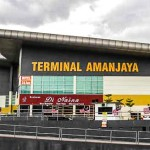Amanjaya – самый крупный и современный автовокзал в Ипохе