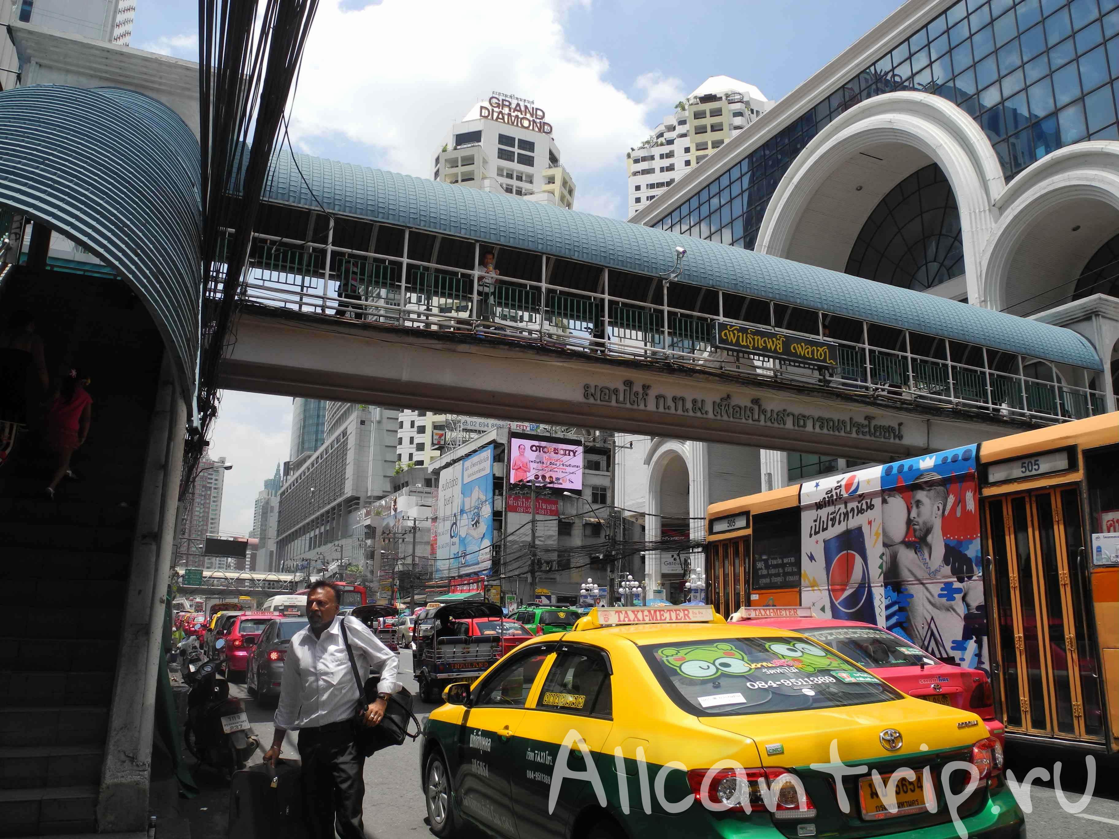 В самом центре Бангкока