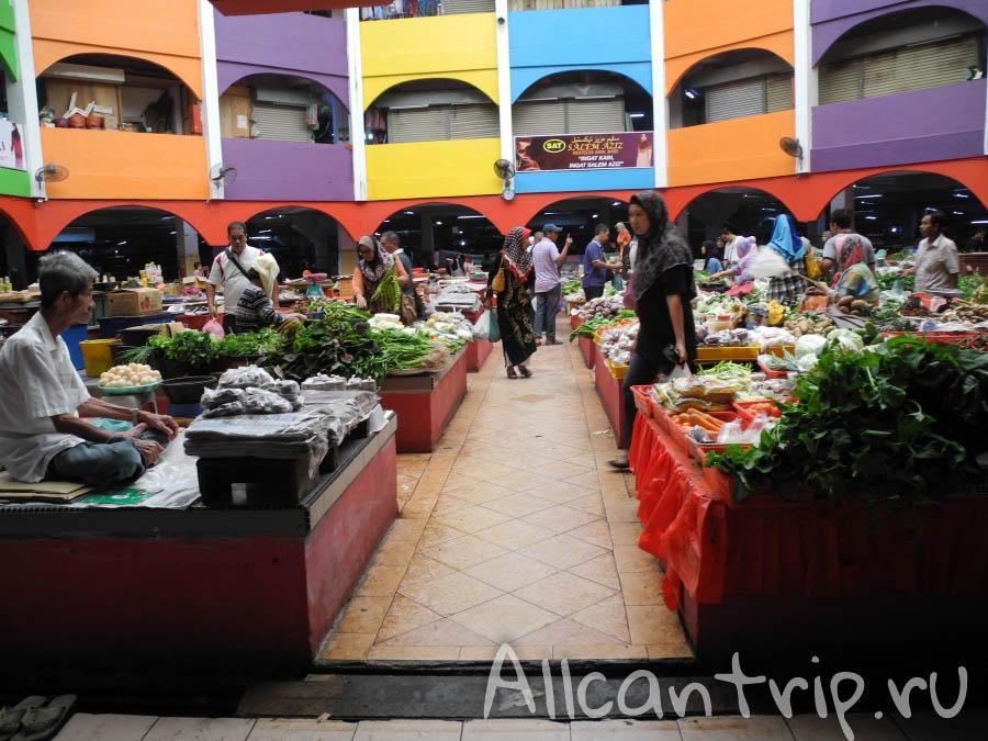 Рынок в Кота-Бару