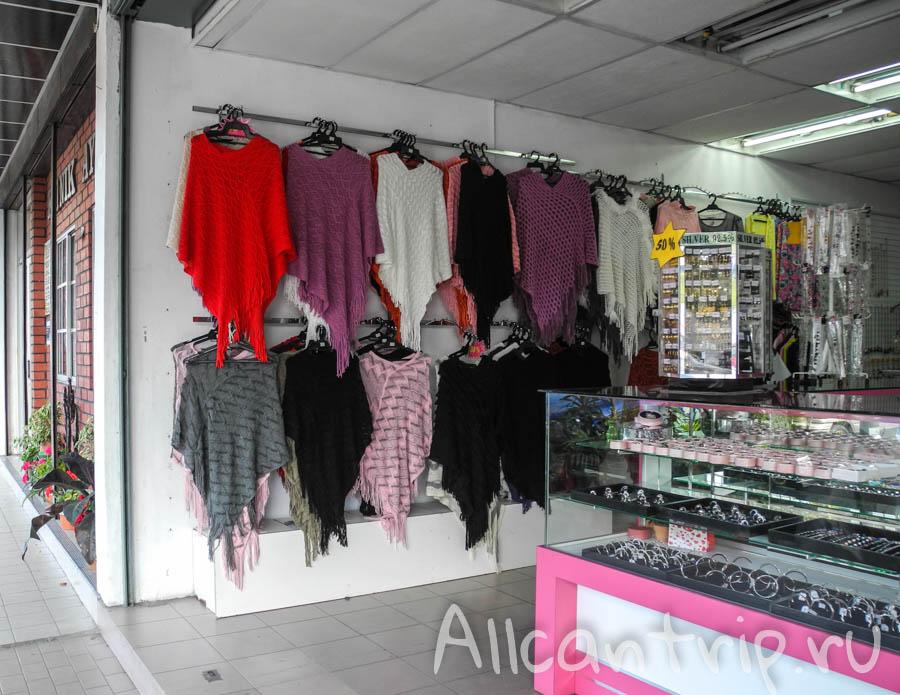 Магазин одежды в Cameron Highlands
