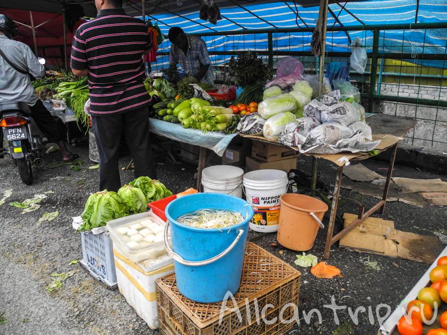 Рынок в Тана Рате
