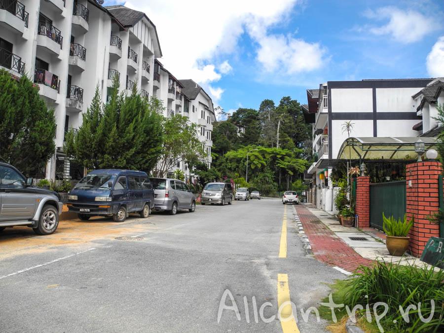 На улице в Малайзии