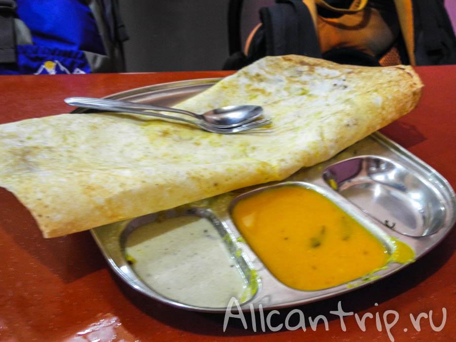 Индийская еда в Малайзии